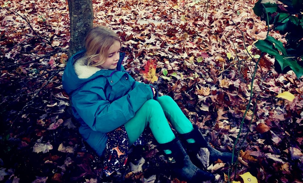 We honor children's need for unstructured, contemplative time in the natural world
