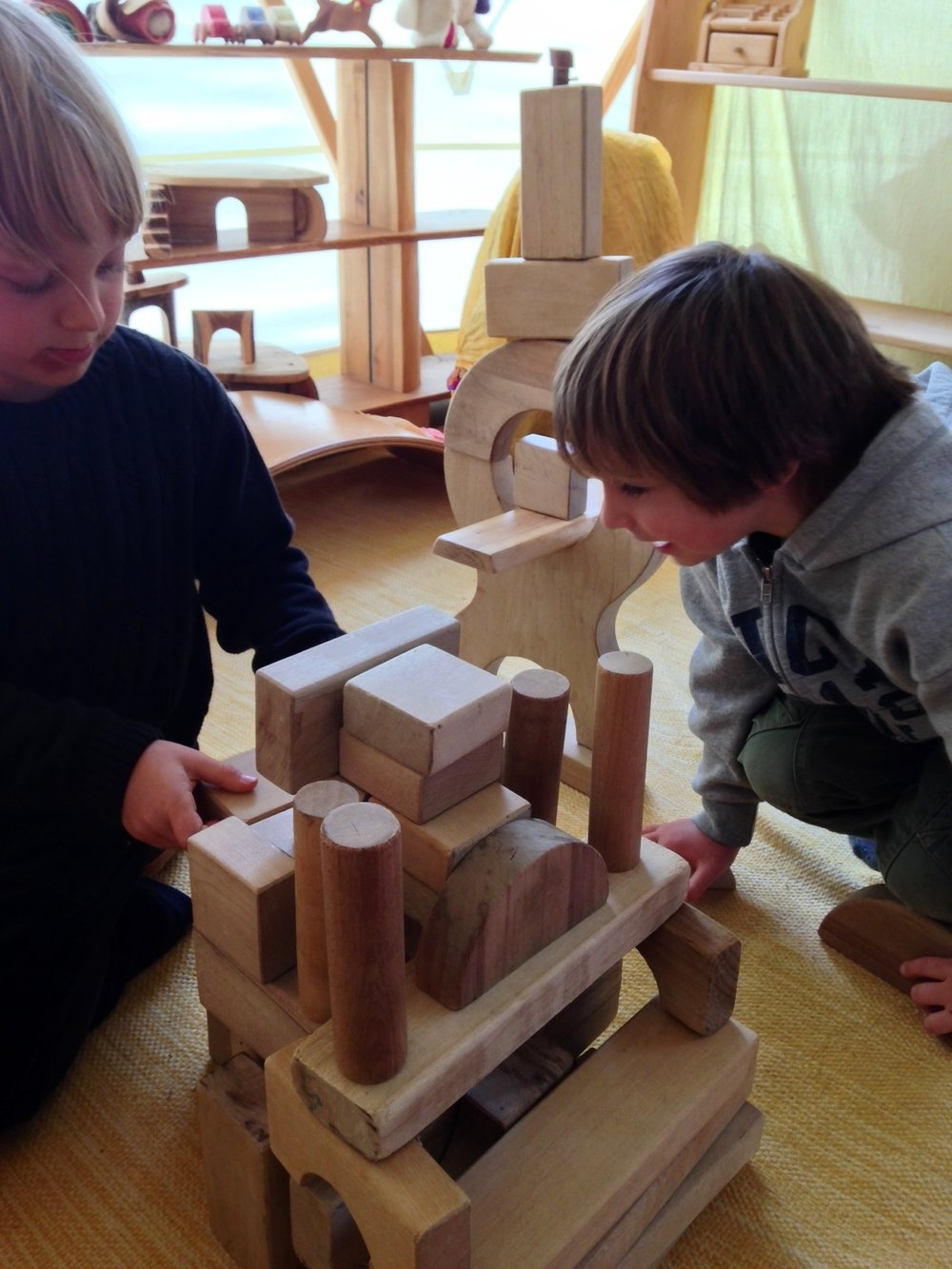 Limitless possibilities for play, and ample time for the sacred work of early childhood