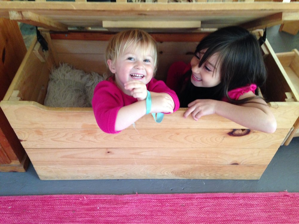 Older playmates often guide and support the younger children, expanding their imaginative capacities and modeling collaboration