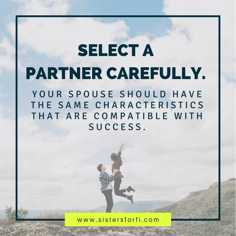 The Millionaire Mind: Partner Carefully.