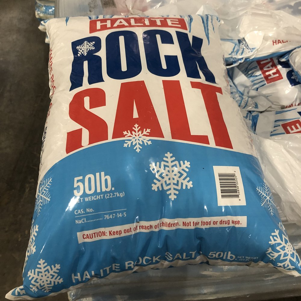 Halite Rock Salt - 50lb