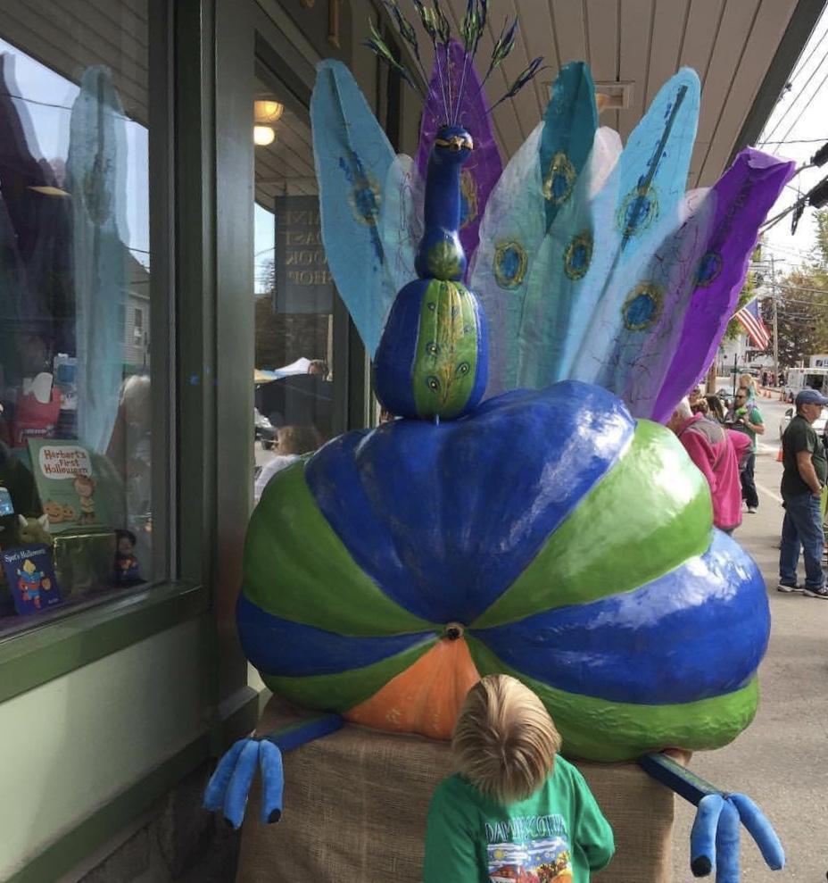 Peacock Pumpkin