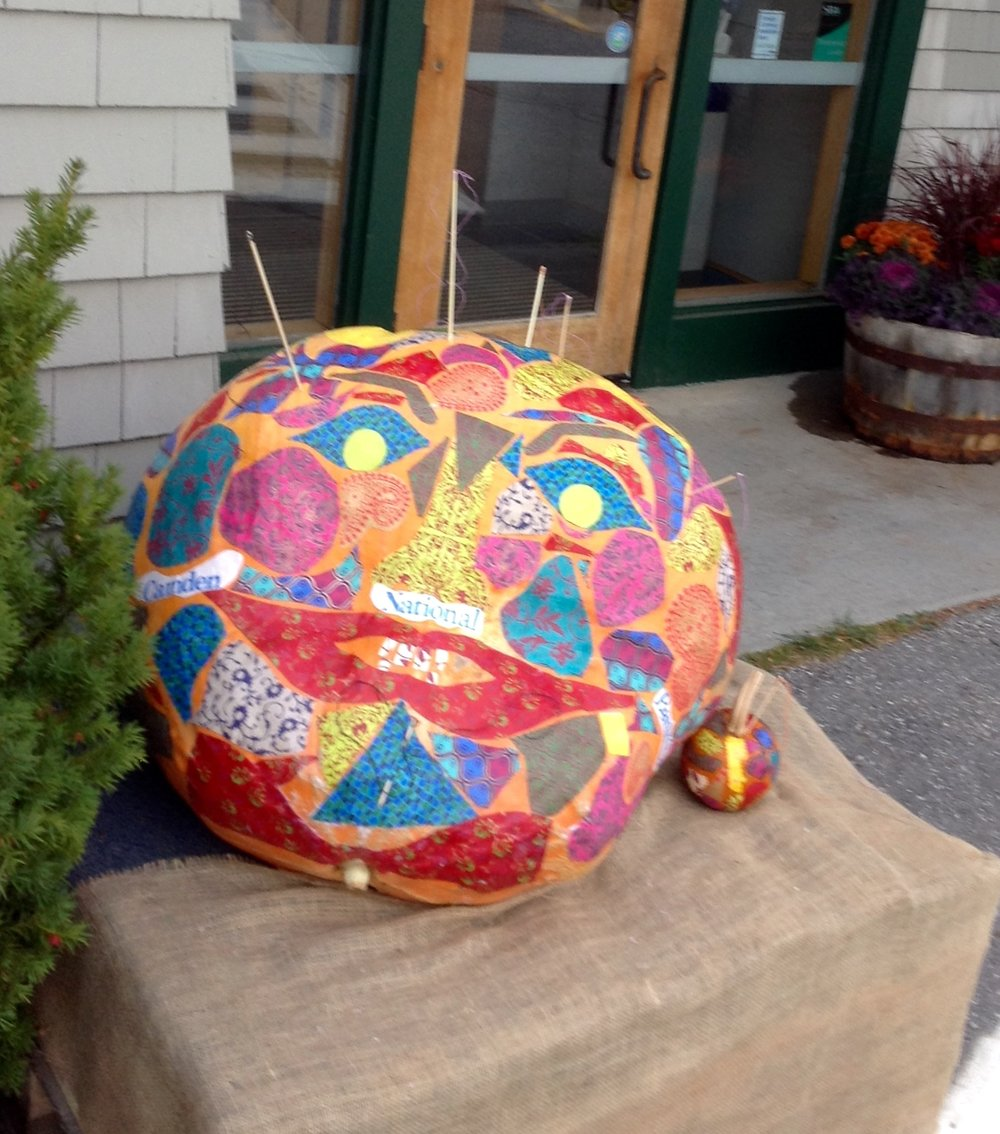 Pincushion Pumpkin