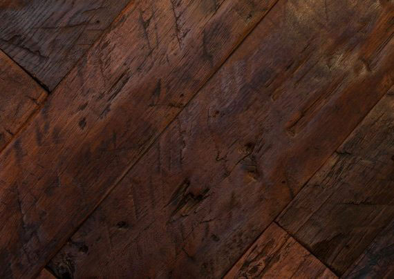 Hand-Finished Heritage Oak Planks