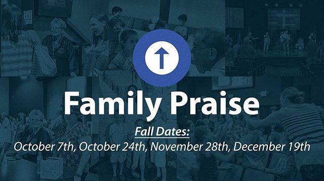 We hope you'll join us tonight in the Auditorium for Family Praise Night! This is a super low key evening for families to get together to worship and learn! See ya then! •⠀⠀⠀⠀⠀⠀⠀⠀ #hccrobinson #FPN #family #worship #weserve #wereach #wecare #welearn #weworship