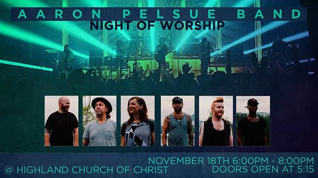 Hey church fam! We are excited for the Aaron Pelsue Band concert tonight! This concert is open to everyone and is free! So bring ya friends! •⠀⠀⠀⠀⠀⠀⠀⠀⠀ If you're in junior high, high school, or college join us at 4:30 for pizza and time to hang. Doors open for everyone at 5:15. See you tonight! •⠀⠀⠀⠀⠀⠀⠀⠀⠀ #hccrobinson #weworship #weserve #wereach #wecare #welearn #APB