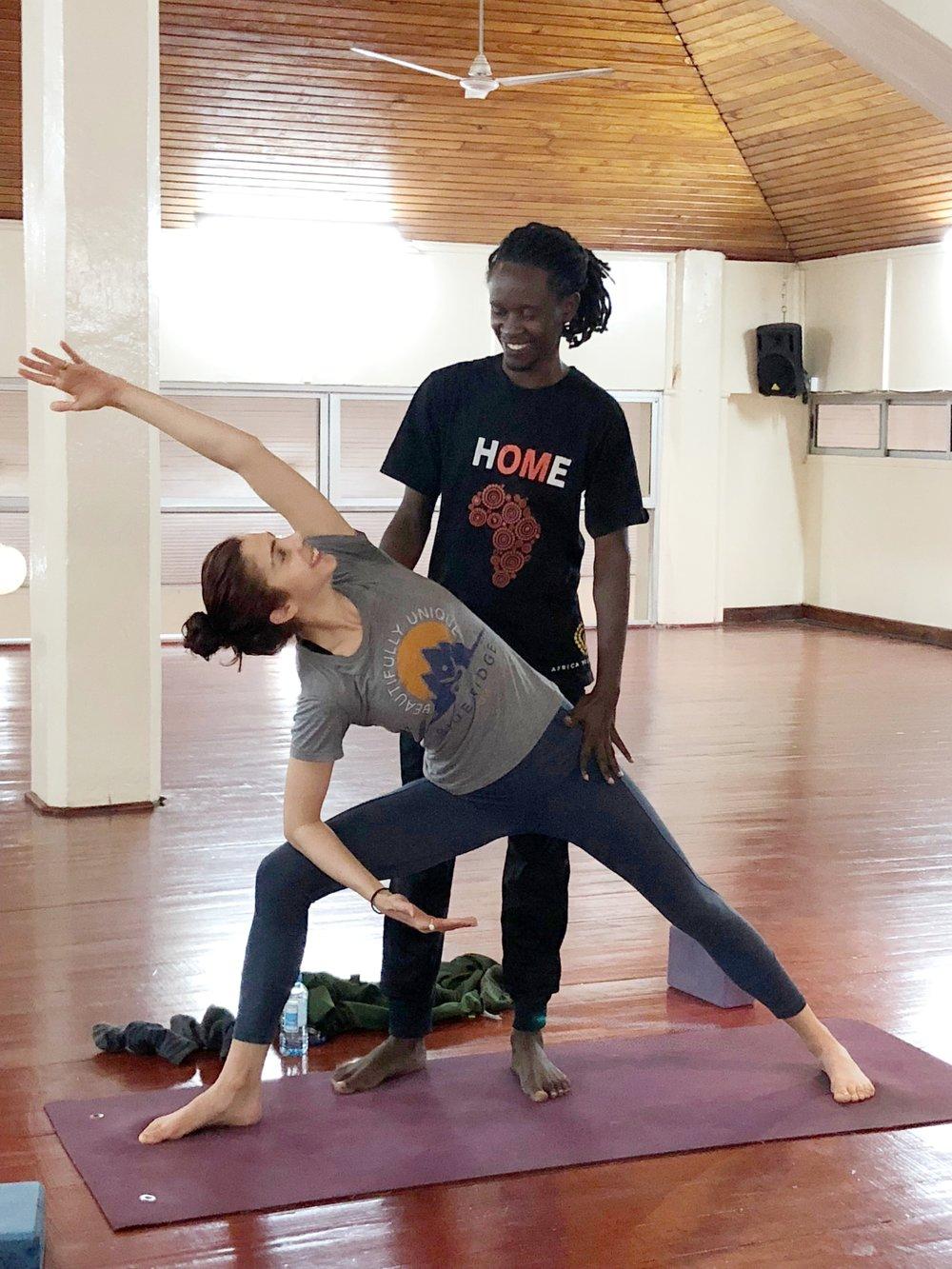 Blue Ridge Yoga / Africa Yoga Project