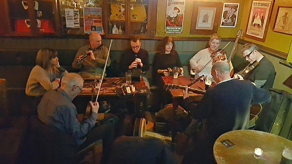 First and last Monday of the month… Live Irish Trad