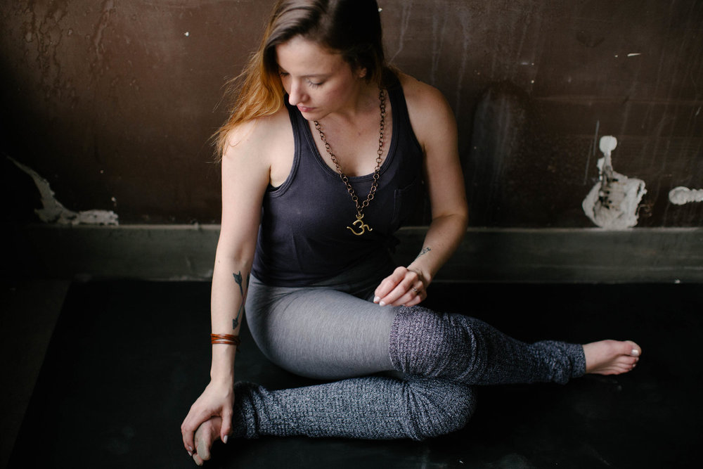 Rachel Vurpillat - Yoga Instructor + Reiki Master - I want my students to walk away feeling the way I did, and do every time I come to my mat- This is why I teach. Yoga has motivated me to make conscious choices in my life, lit the light to a more compassionate, more connected, more aware way of life. I hope the same for everyone else. *Portrait by Molly Grunewald
