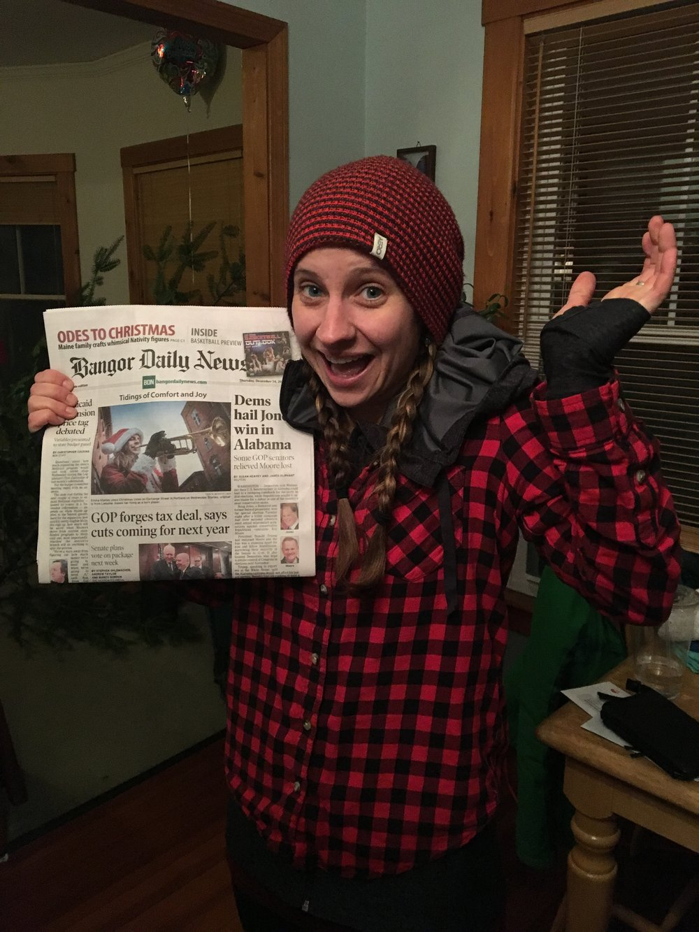 Made the front page!