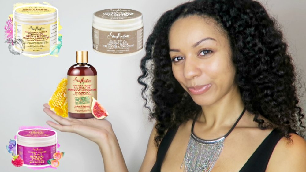 UKCurlyGirl's Top 8 Favourite SheaMoisture Products