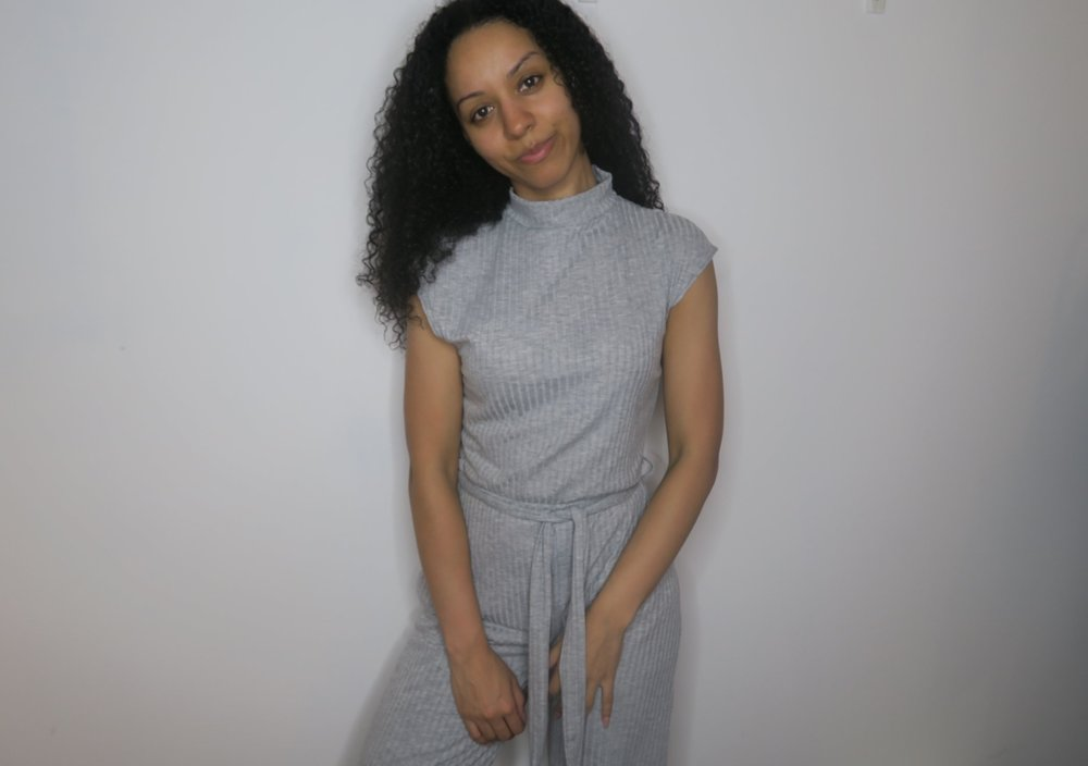 Femme Luxe High Neck Jumpsuit Full