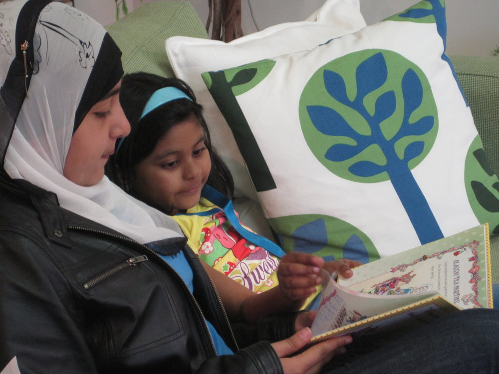 Nothing like cuddling up with a good book to make the world seem a little less scary! Muznah shares one of her favourites with her Reader, Zoha.