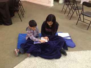 "Anita and Huzaifa make sure that they have their warmest blanket with them before they dive into ""The Big Storm""!"