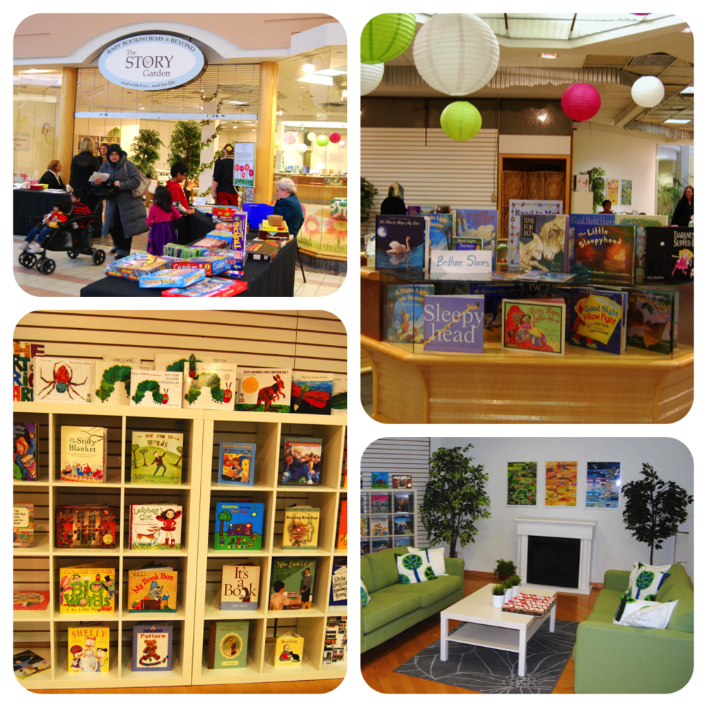 """The Story Garden today. What a transformation! We can't wait to see what """"grows"""" next!!"""