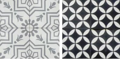 Lindsey Grace Interiors Cement Tile