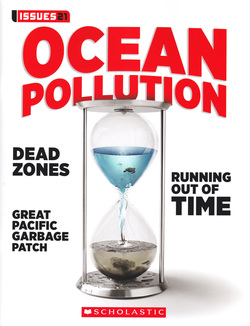 "2015 Scholastic Issues 21 Erika Boas ""...Her work raises awareness about the huge amounts of waste that end up in landfills and the world's oceans. """