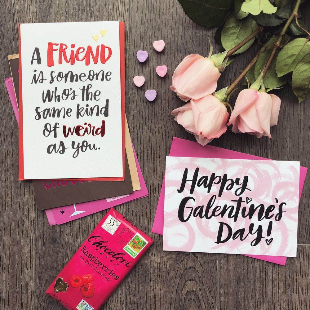 Happy Galentine's Day! Send some love to your BFFs and let them know how important they are 💖💘 #galentinesday#sponsored #givemeaning#resolvetoreconnect -