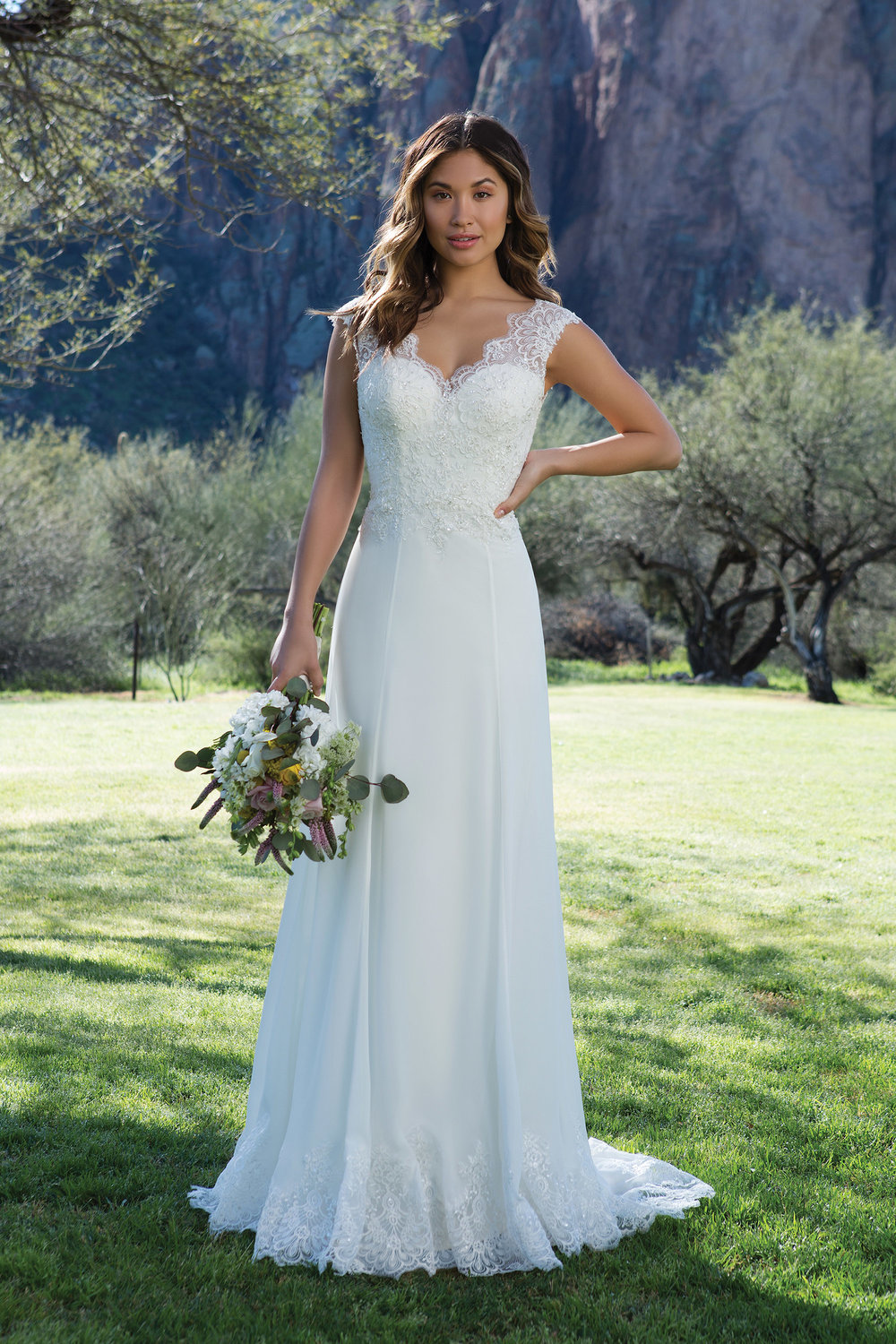 destination wedding gown Sincerity