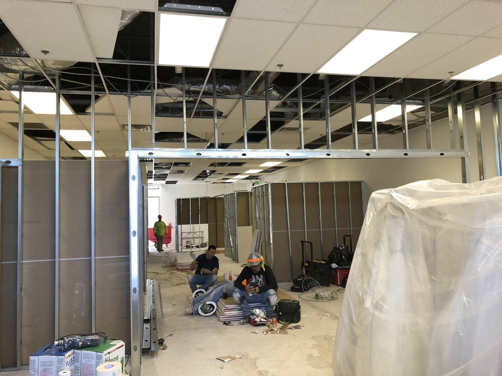 building our Albquerque bridal shop