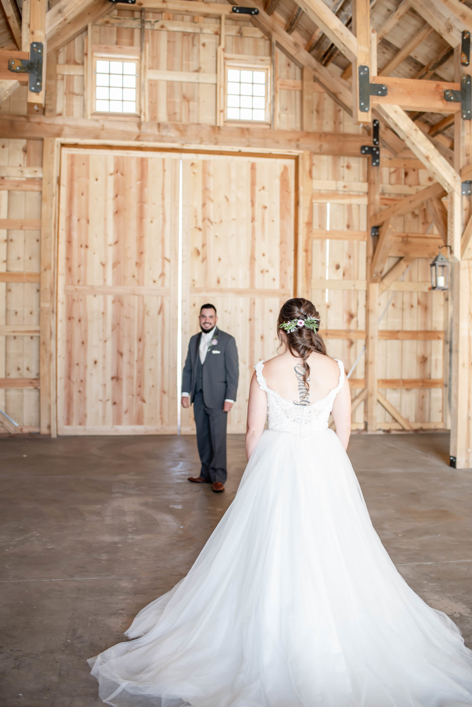 bridal gown barn weddings, Chama, NM first look.jpg