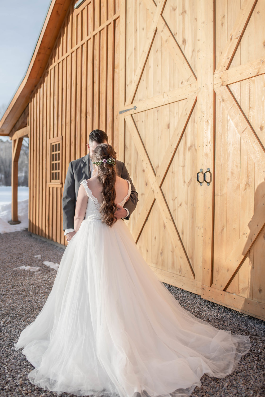 winter wedding dresses, barn background.jpg
