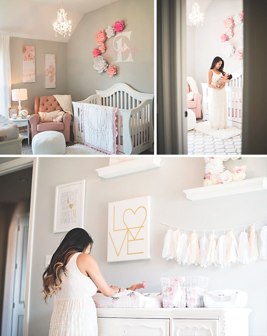 A nursery fit for a princess.