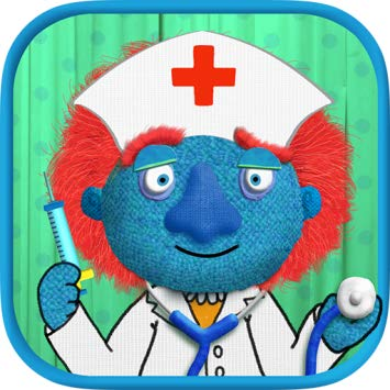 "Tiggly Doctor - Let your child be a doctor for one day! Examine a patient, make up action verbs, and perform the operations!A series of unexpected (and funny) operations – like pulling a dancing worm out with a forceps, snipping a leaky hose in a patient's nose, and putting a floating rib back into place with your pliers. Tiggly Doctor is a ""humerus"" app, guaranteed to tickle the funny bone of all the curious learners who are just beginning to think about verbs and short and long vowel sounds."
