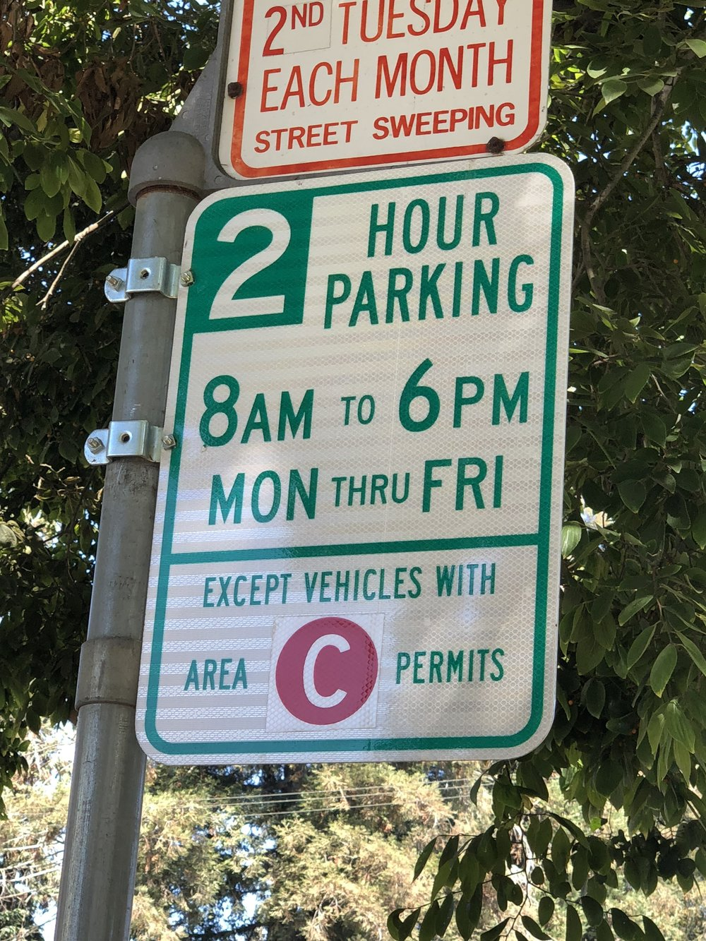 C Parking Permit City of Oakland