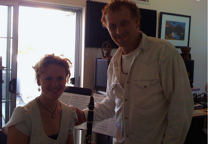 Mollura with clarinetist Alethea in studio .png