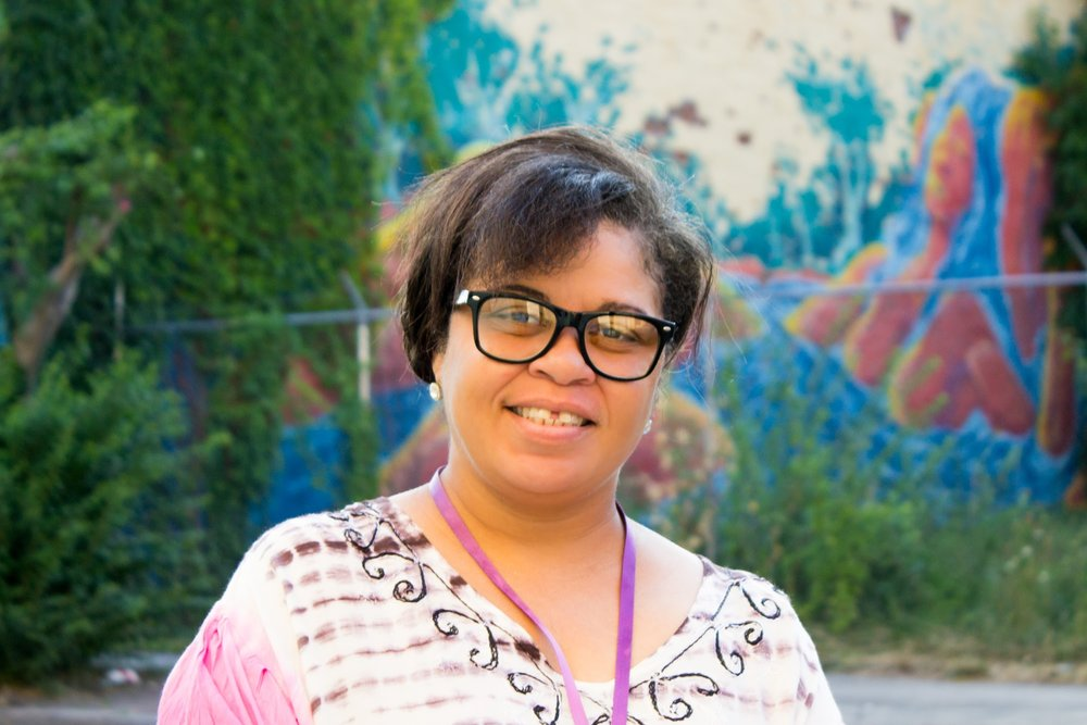 Yolanda Vaughan - Yolanda has lived in the Davee Gardens community all of her life. Her parents started the Davee Gardens Civic association. Yolanda wants to be apart of carrying on the work her parents started in the neighborhood, she also wants her community to be the type of place that her friends who have moved away would be proud to come back to and raise their families in.