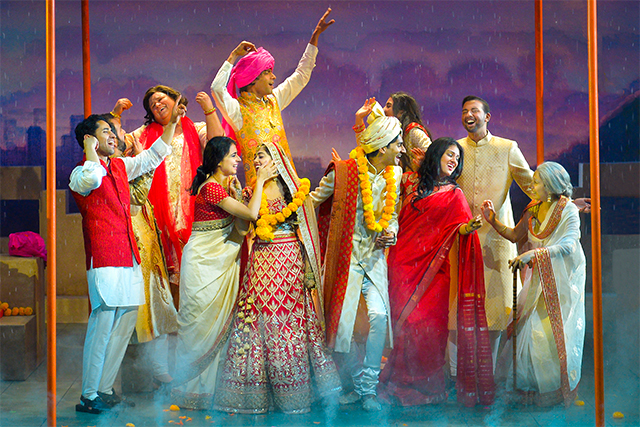 The company of Monsoon Wedding at Berkeley Rep. Photo: Kevin Berne
