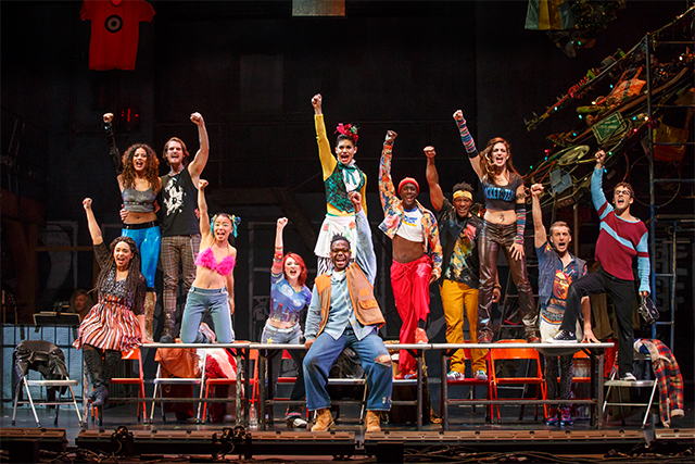 The 20th anniversary touring company of Rent. Photo: Carol Rosegg