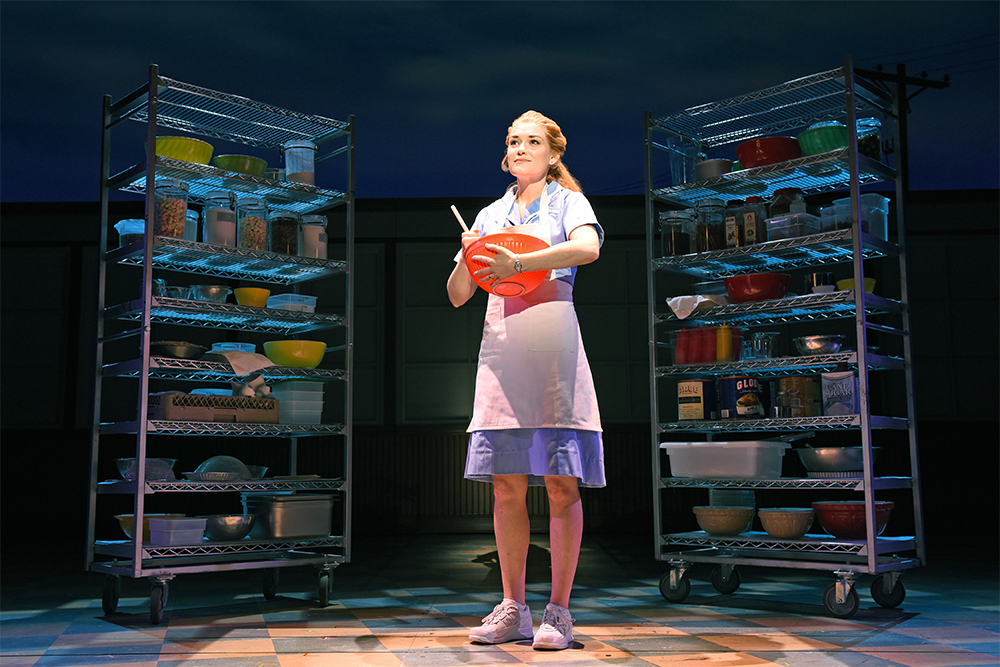 Christine Dwyer in Waitress at SHN's Golden Gate Theater. Photo: Tim Trumble