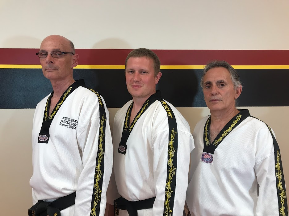 Three Master Instructors
