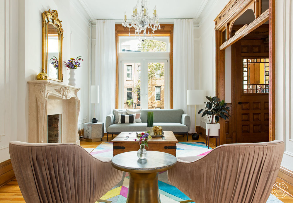 Brooklyn Brownstone Interior Design ANA CLAUDIA INTERIOR DESIGN
