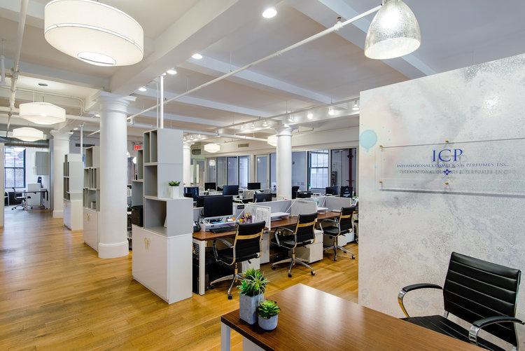 contemporary office interior. Contemporary Office Interior