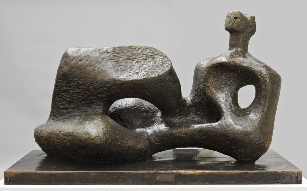 Working Model for Unesco Reclining Figure 1957, cast c.1959-61 © The Henry Moore Foundation