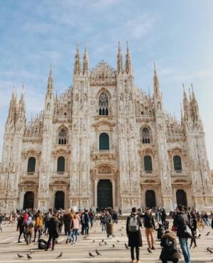 Les étudiants de la promotion ont eu l'occasion de terminer l'année lors d'un voyage de quelques jours à Milan !