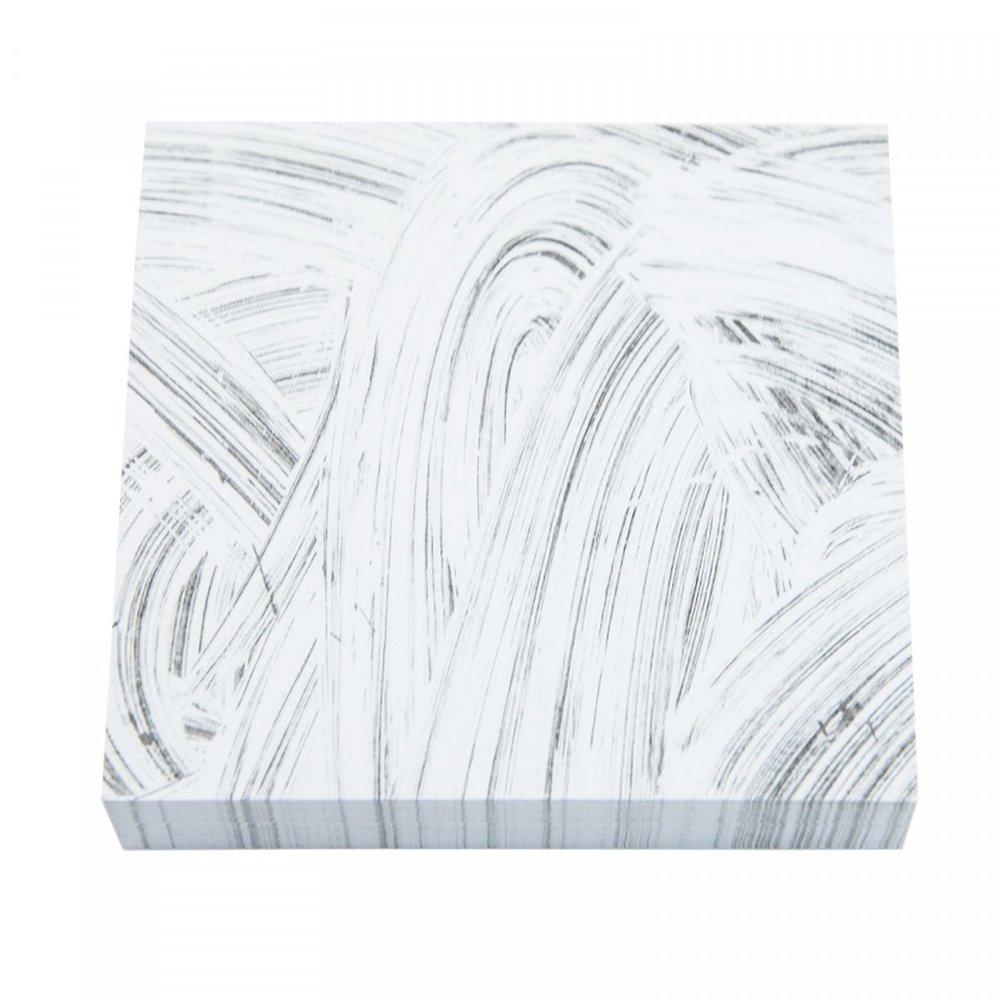 Grey Brush Sticky Notes