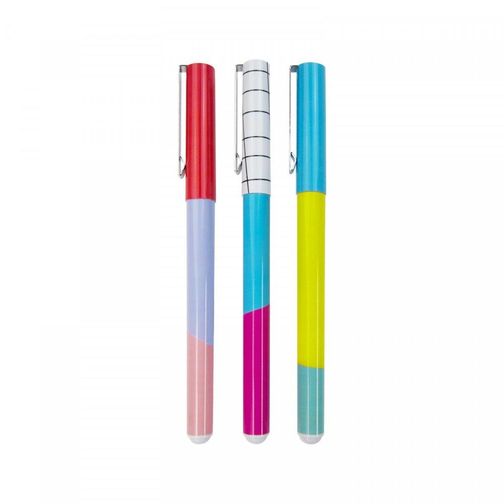 Colour Block Pens
