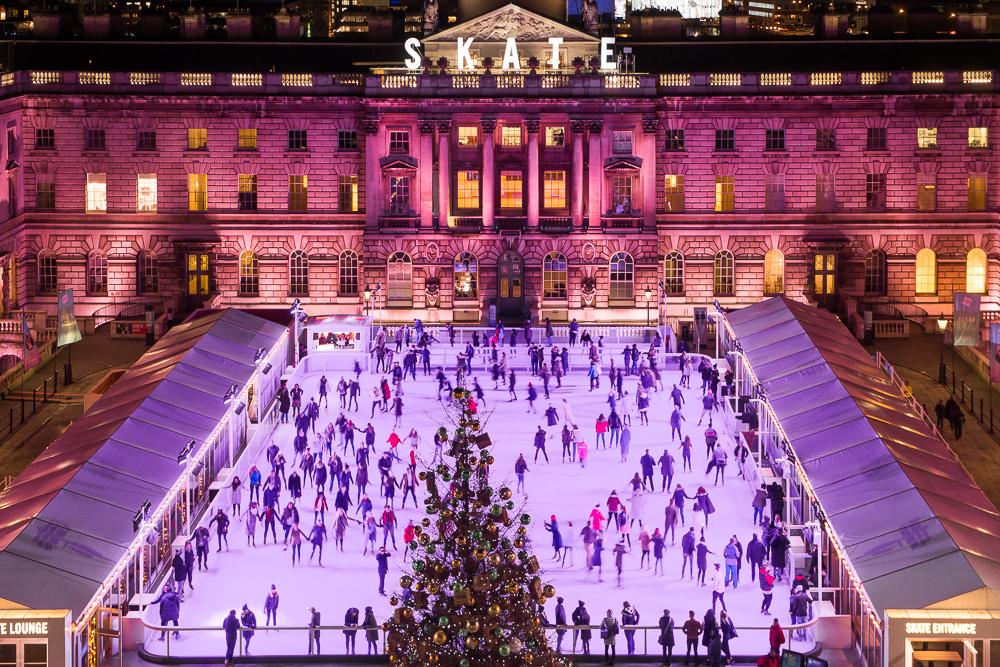 Skate at Somerset House with Fortnum & Mason © David Jensen