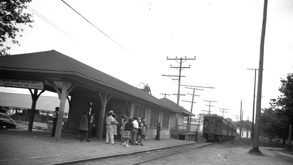 Baltimore & Annapolis Railroad, Glen Burnie Station. Glen Burnie, Maryland Date: Unknown. Source: Unknown.
