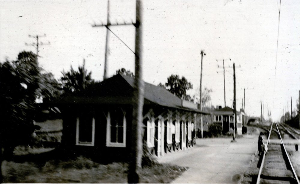 Linthicum Station. Linthicum, Maryland. Circa 1935. Source: John W. Barriger III National Railroad Library.