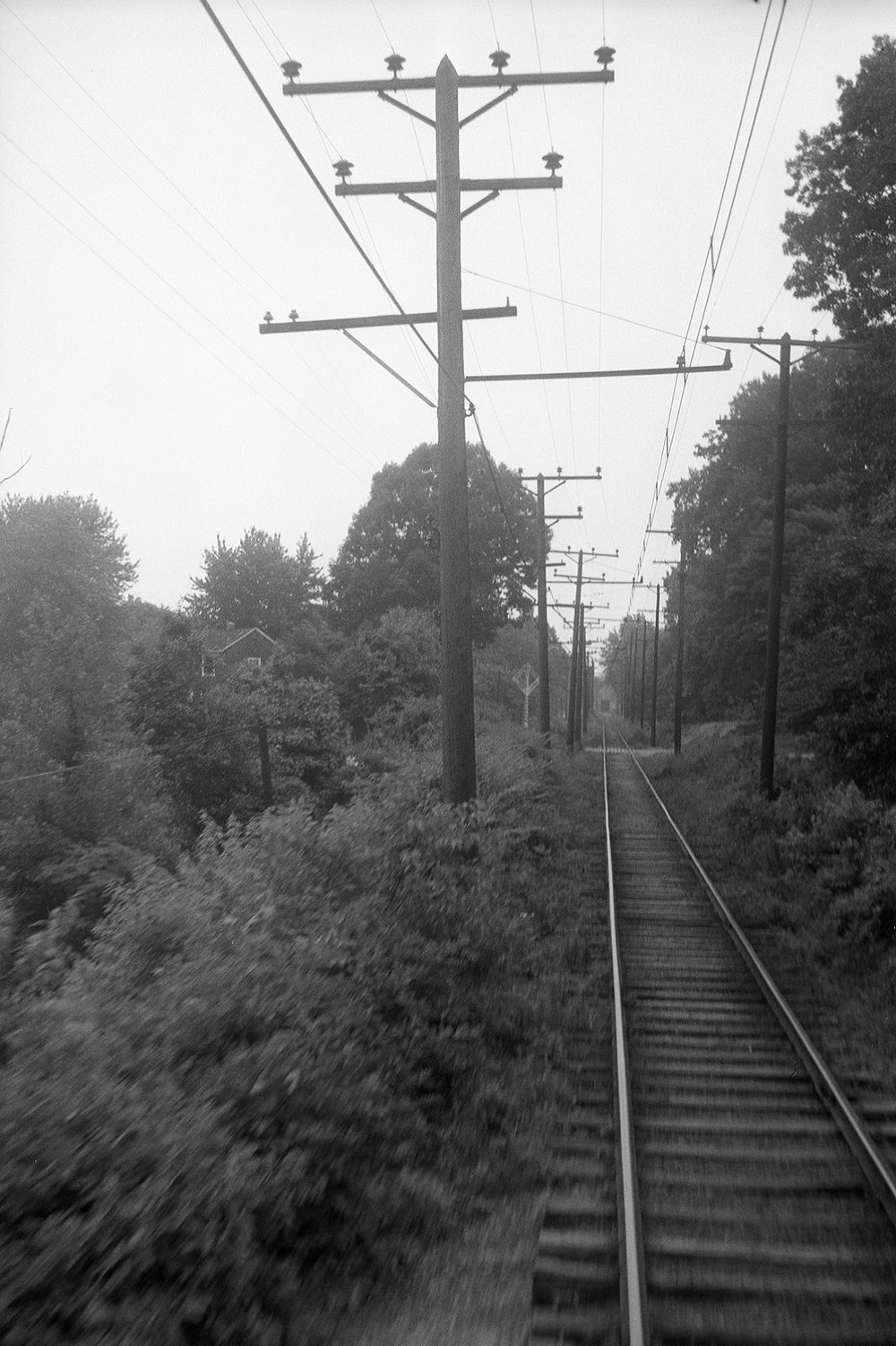 Baltimore & Annapolis Railroad. Maryland, Circa 1940's. Source: Hugh Hayes Collection.