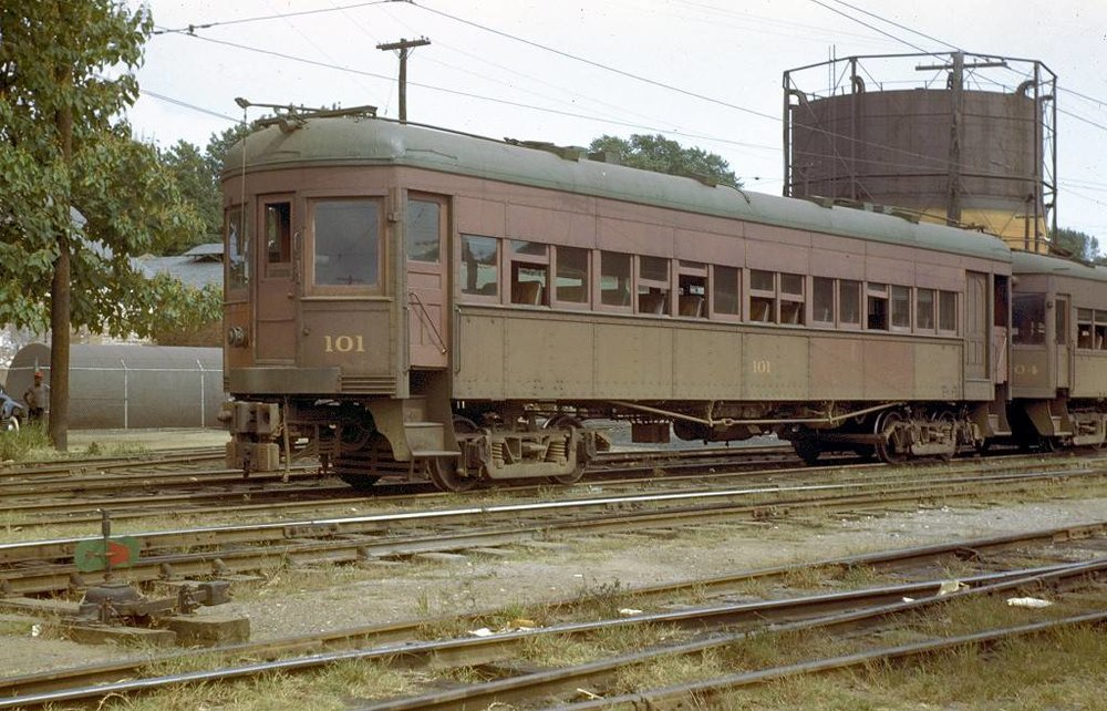 Baltimore & Annapolis Railroad Car #101 at Bladen Street Station. Annapolis, Maryland Date: Unknown. Source: Unknown.