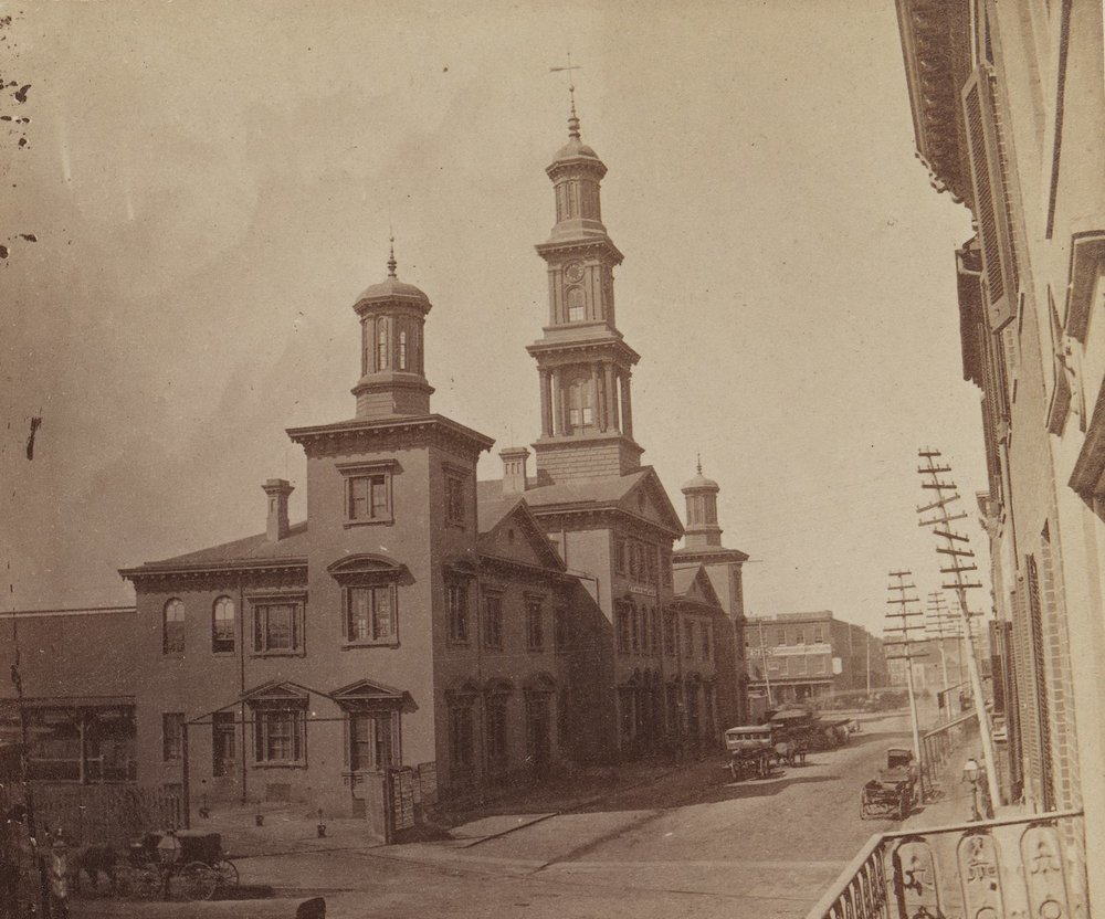 Camden Station Baltimore, Maryland. Date: 1872. Source: Cushings & Balley.