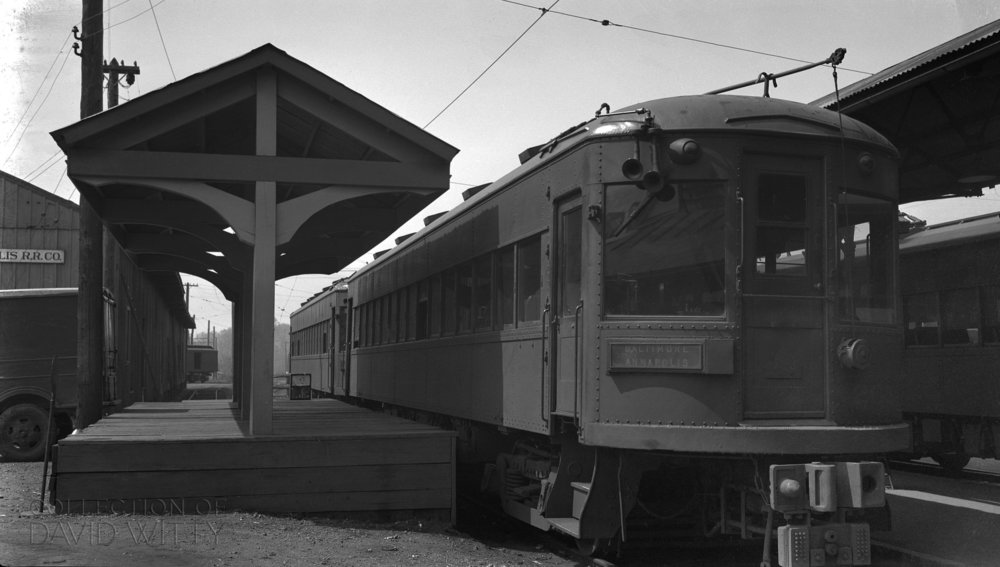 Baltimore & Annapolis Railroad Car #204 at Bladen Street Station. Annapolis, Maryland Date: Unknown. Source: David Witty Collection.