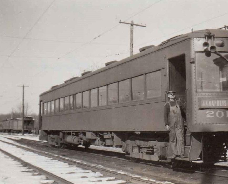 Baltimore & Annapolis Railroad Car #201. Date: Unknown. Source: Unknown.