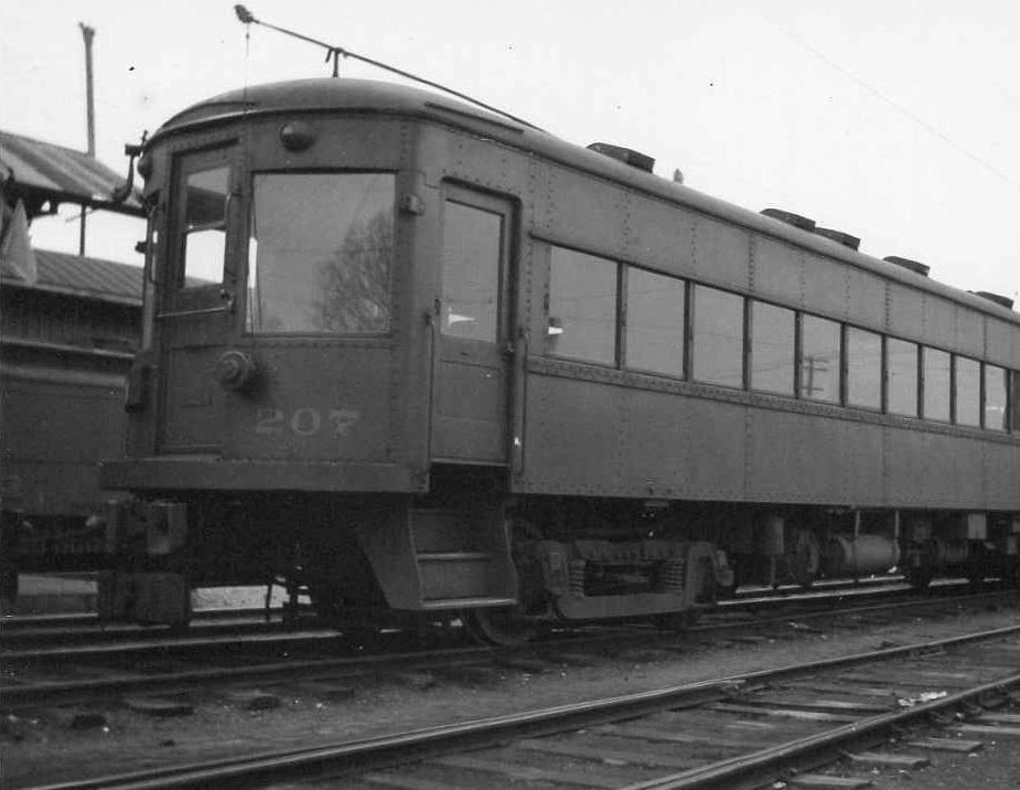 Baltimore & Annapolis Railroad Car#207. Date: Unknown. Source: Unknown.